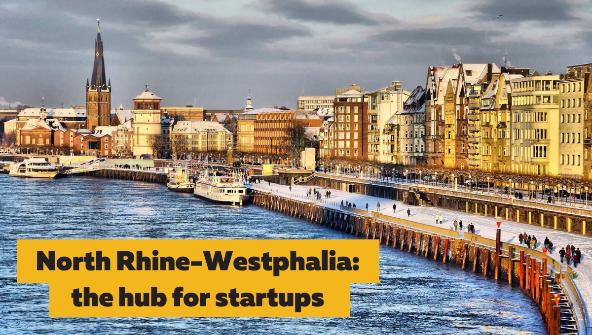 Interview with Oliver Weimann: North Rhine-Westphalia - the hub for tech startups in Germany
