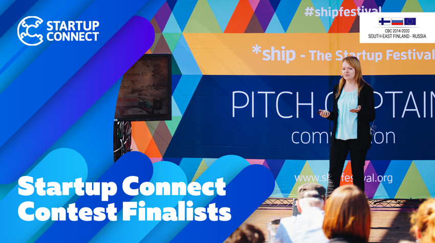 Startup Connect Contest Finalists
