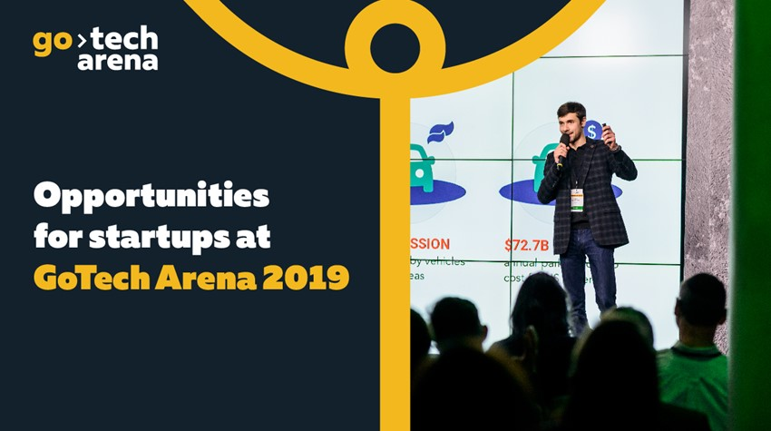 All Startup Opportunities at GoTech Arena!