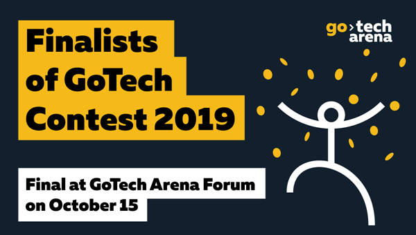 GoTech Contest announced Finalists of 6 Nominations