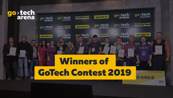 The winners of GoTech Contest were announced at GoTech Arena Forum